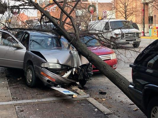 York City crash