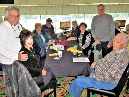 The Italian American Society of Marco Island visited