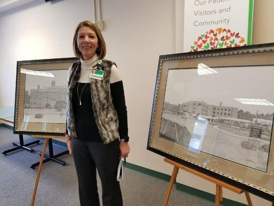 ProMedica Memorial Hospital President Pam Jensen celebrates