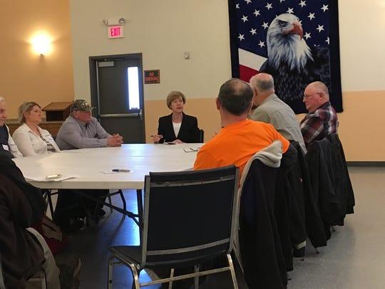 U.S. Senator Tammy Baldwin had a roundtable discussion