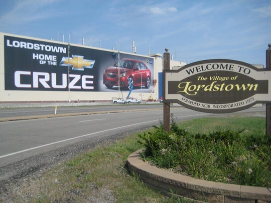 General Motors' Lordstown Assembly plant.
