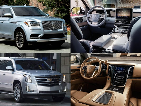 Photos: 2018 Lincoln Navigator Black Label