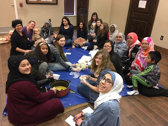 """""""Seeds of Abraham"""" members gather to make cold weather"""