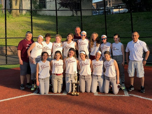 Nutley Suburban softball