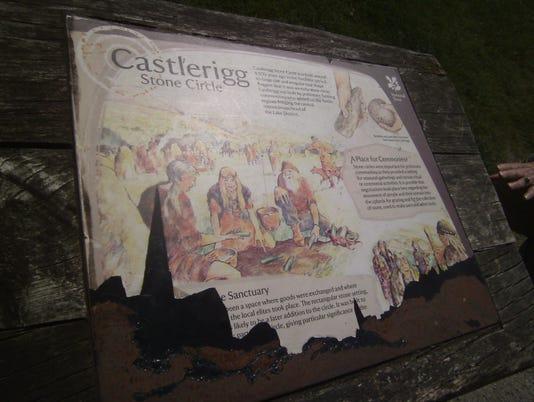 Castlerigg sign