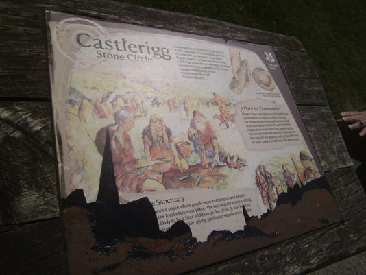Castlerigg sign