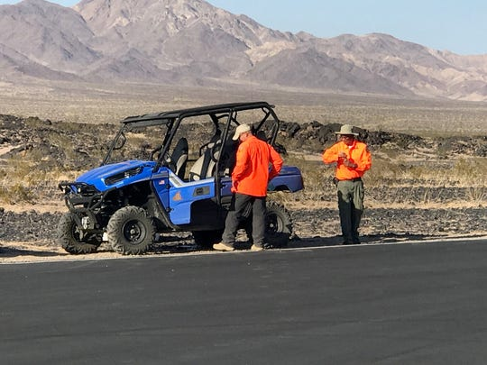 William and Susan Schmeirer were on their way to Palm Springs when their vehicle was found near the Amboy Crater. Investigators found a body matching the husband's description, but the wife is still missing.