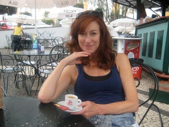 "Diana Marcum, author of ""The Tenth Island."""