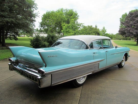 This 1958 Cadillac Sixty Special is owned by Peter