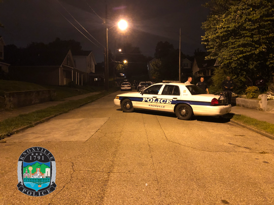 Knoxville police rescued a woman and her child after a man took them hostage in a standoff on Moses Avenue for several hours early Friday, Aug. 10, 2018.