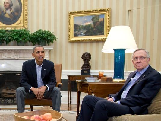 Obama and Reid