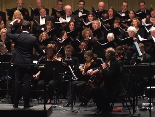 The Monmouth Civic Chorus.