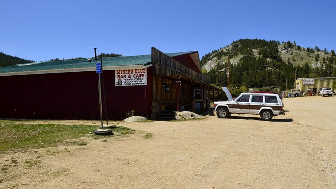 The Miner''s Club Bar and Cafe is a mainstay in Zortman.