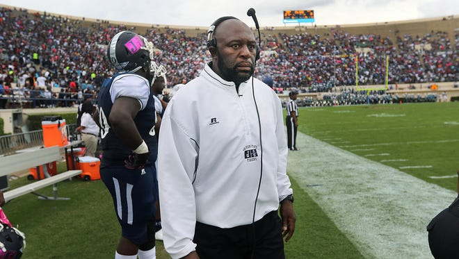 Derrick McCall won his first game as the Tigers interim coach on Saturday and will coach against the man who brought him on JSU's staff, MVSU coach Rick Comegy, this weekend.