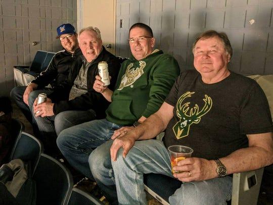 Brian Cieslak, Jim Voss, Mark Kopplin and Rich Cieslak