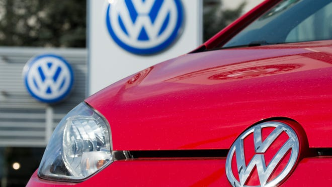 Germany's Volkswagen has taken the crown as the world's top carmaker after its sales overtook those of Japanese rival Toyota during the first half of the year.