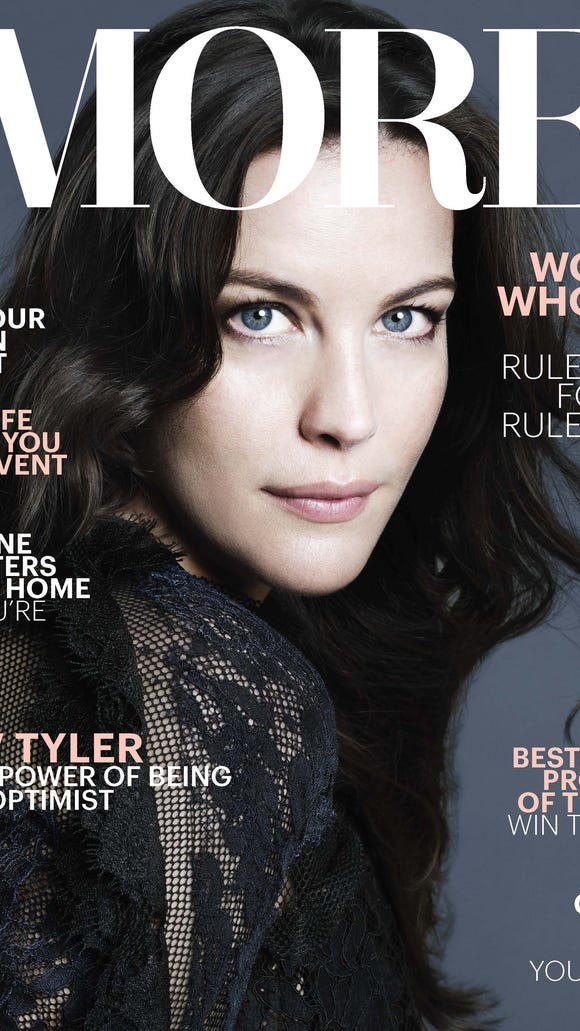 Liv Tyler as feautured on the October 2015 issue of