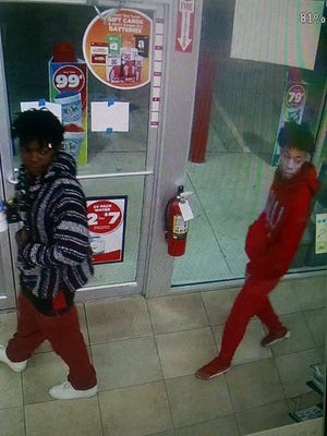 Shreveport Police have released images of three people suspected of an armed robbery in Shreveport.