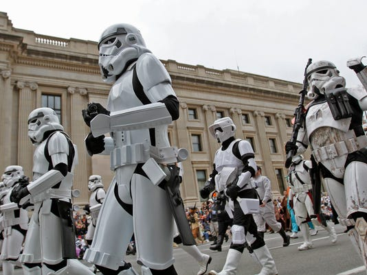 indy 500 traditions parade stormtroopers