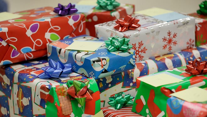 Christmas gifts file photo