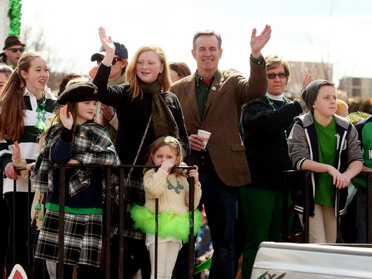 Grand marshal for the 2018 St. Patrick's Day parade, John J. Murphy pictured in 2014.