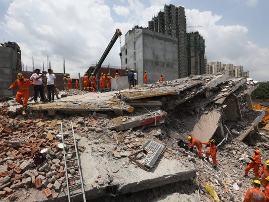 EPA INDIA BUILDING COLLAPSE DIS ACCIDENTS (GENERAL) IND UT