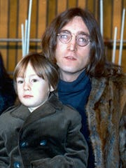 FILE - In this 1968 photo, John Lennon of The Beatles