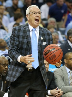 North Carolina's Roy Williams is in his ninth Final Four as a head coach.