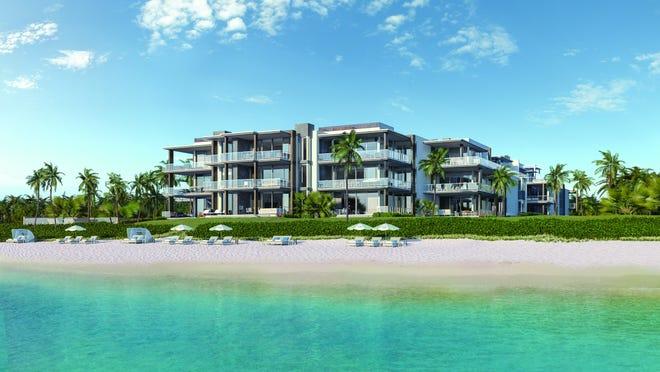 Ocean Delray, a lxury condominium planned for Delray Beach, continues with construction despite the coronavirus.