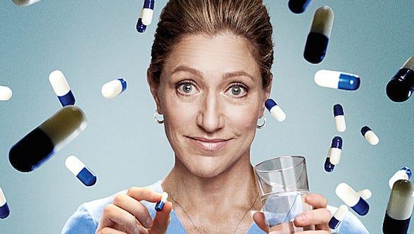 Edie Falco as Nurse Jackie Peyton in Nurse Jackie (Season 6)