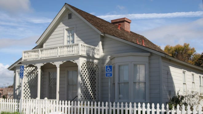First Mayor's House at the Salinas Train Depot