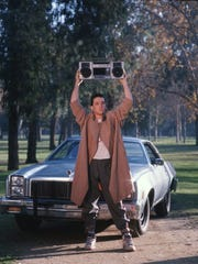 """John Cusack in a scene from """"Say Anything..."""" (1989)."""