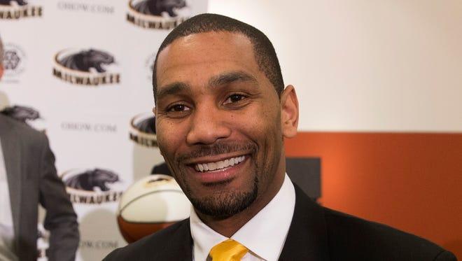 New UW-Milwaukee men's basketball coach LaVall Jordan.