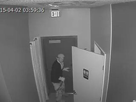 Murfreesboro Police need help identifying this person who is suspected of breaking into three businesses overnight April 1. Anyone with information regarding these cases or about the identity of the suspect should call the criminal investigations division at 615-893-2717 or Crime Stoppers at 615-893-STOP(7867).