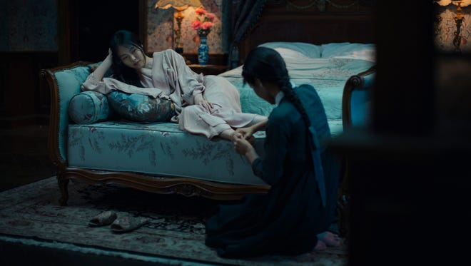 "Kim Min-hee and Kim Tae-ri in ""The Handmaiden,"" an Amazon Studios/Magnolia Pictures release."