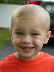 Brian Domitrovits, 4, of Sparkill. The 8th Annual Penguin Plunge will raise money for his medical needs.