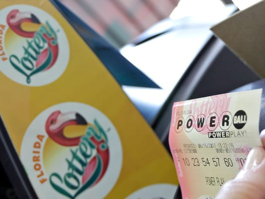 #file Powerball Florida Lottery Stock Photo