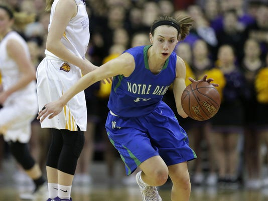 GPG ES Notre Dame vs New Berlin STATE GBB 3.11.16
