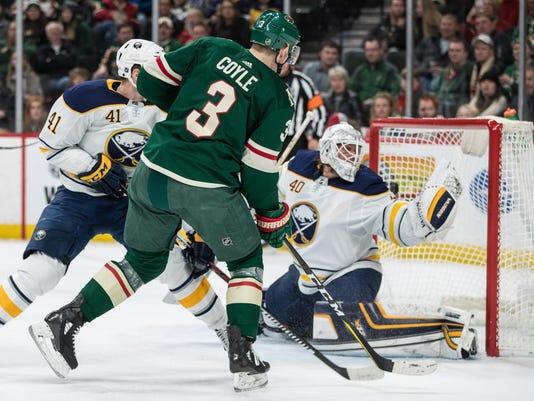 NHL: Buffalo Sabres at Minnesota Wild