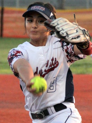 """Senior Julyssa """"Boo"""" Ortiz ended her varsity career career with a state tournament appearance."""