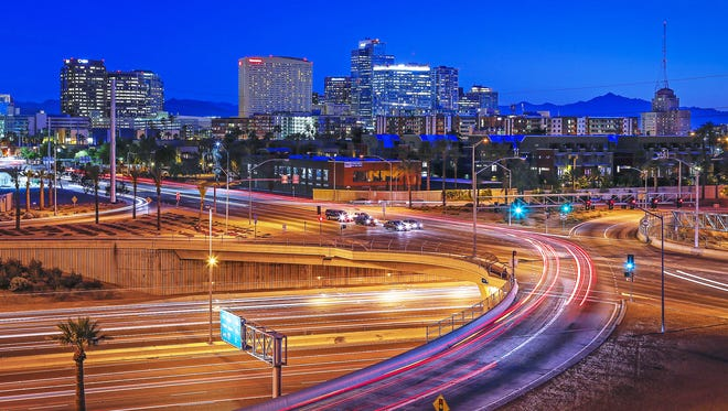 One economist expects Arizona's economy to grow by 2.1 percent this year and 2.4 percent next year, following subpar strength over the past five years.