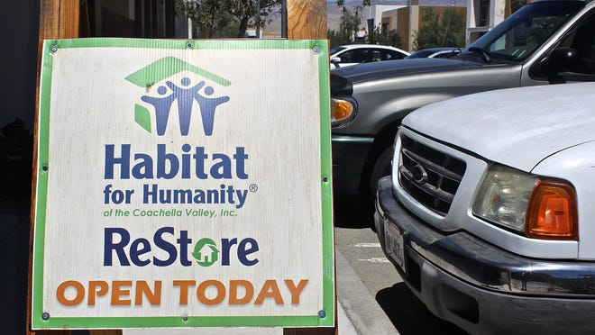 Earlier this year, Palm Desert's Habitat for Humanity ReStore relocated to a 10,000-square-foot building at 34470 Gateway Drive, Suite 110, in an industrial area directly behind the Walmart and Sam's Club shopping center on Monterey Avenue.