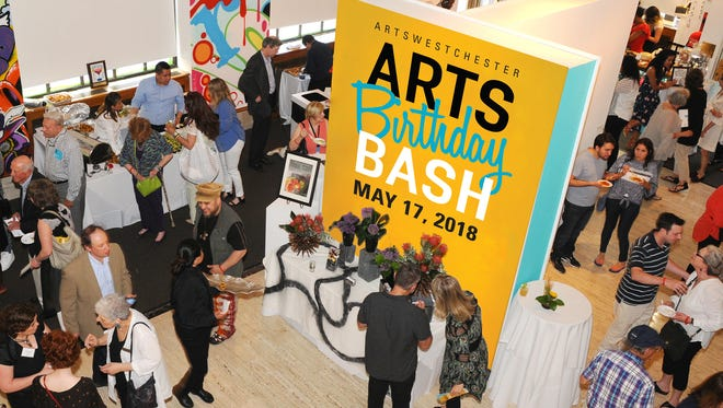 Enjoy great food, fun and contemporary art during ArtsWestchester's Birthday Bash, May 17.