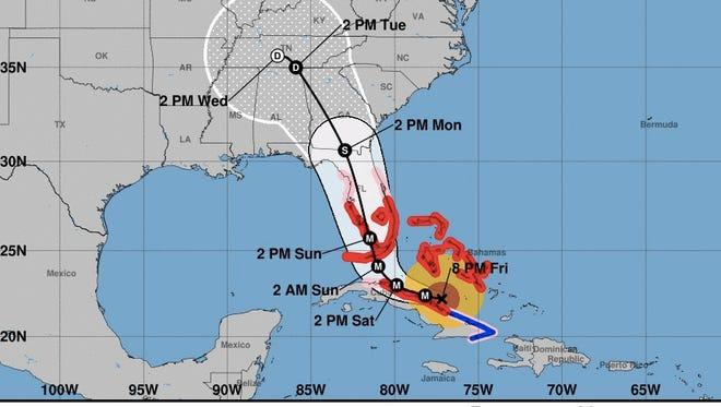 Credit: National Hurricane Center