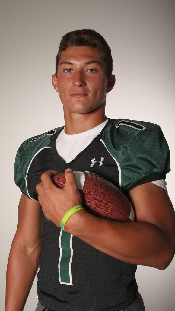Brett Makar, Yorktown High School football running