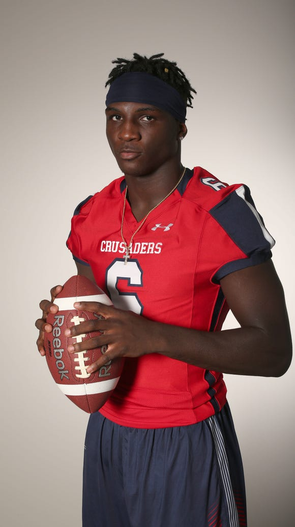 Trill Williams, an Archbishop Stepinac defensive back/athlete,