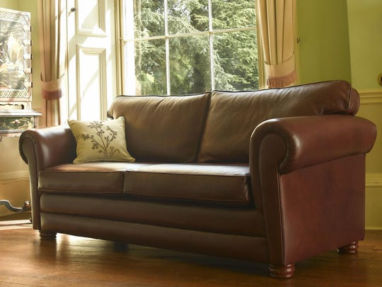 This bullet proof couch is made by Osdin Shield in