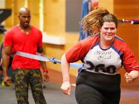 The Biggest Loser on NBC lets viewers get to know the contestants throughout the season. (AP Photo/NBC, Trae Patton)