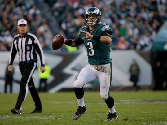 The Philadelphia Eagles will likely rely on Mark Sanchez to lead the team this weekend.