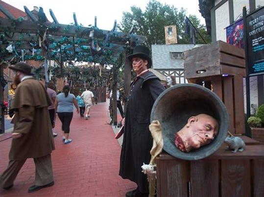 Halloween At Busch Gardens Williamsburg
